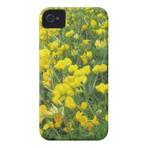 iPhone 4 Case - Yellow Flowers