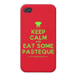[Chef hat] keep calm and eat some pasteque  iPhone 4 Cases