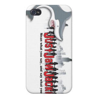 """IPhone 4"""" caso del tema de JJJ"""" iPhone 4 Carcasa"""