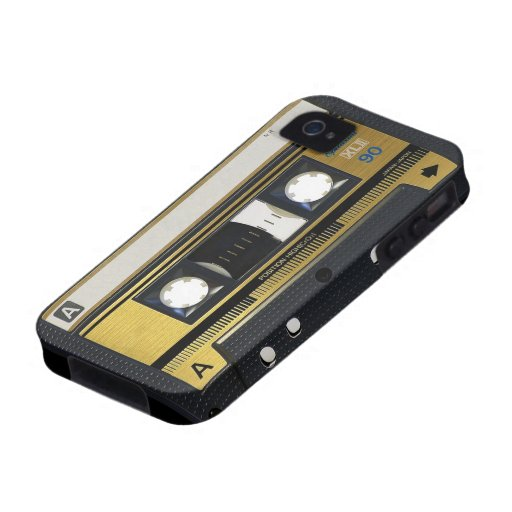 iPhone 4 Cassette Tape Old School Retro Case For The iPhone 4