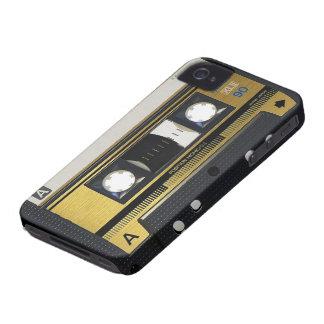 iPhone 4 Cassette Tape Old School Retro iPhone 4 Case-Mate Case