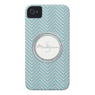 IPhone 4 - Chevron Pattern Modern Stripe Zig Zag iPhone 4 Case-Mate Cases