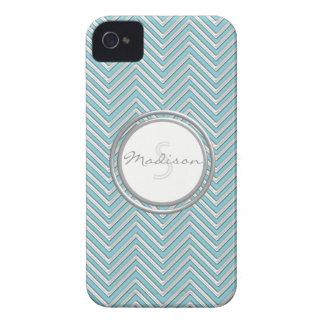 IPhone 4 - Chevron Pattern Modern Stripe Zig Zag iPhone 4 Case-Mate Case
