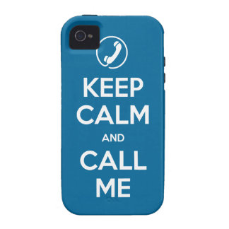 iPhone 4 Choose Your Color Keep Calm and Call Me Case For The iPhone 4