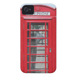 iPhone 4: Classic red telephone box photo Case-Mate iPhone 4 Cases