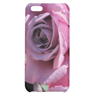 iPhone 4 color de rosa rosados oscuros del caso