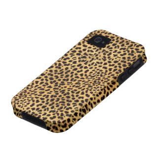iPhone 4 de la impresión del guepardo Case-Mate iPhone 4 Carcasa