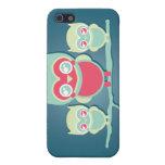 iPhone 4 de los búhos de Lil Munchkin Kawaii iPhone 5 Carcasa