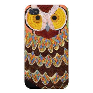 Iphone 4 de Sr Pattern Owl iPhone 4/4S Carcasa