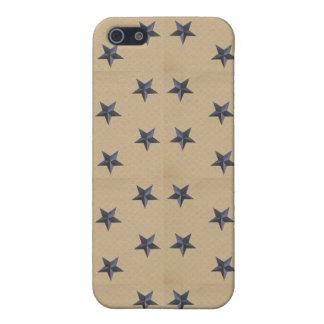 iPhone 4 del caso de Speck® Fitted™ de la marina d iPhone 5 Protector