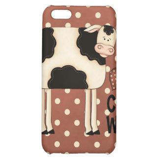 iPhone 4 del caso de Speck® Fitted™ de las vacas d