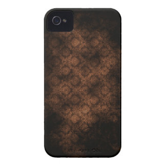 iPhone 4 del damasco del Grunge sepia Case-Mate iPhone 4 Protector