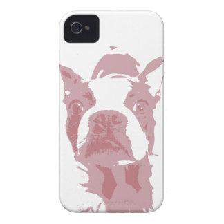 iPhone 4 del diseño de Boston Terrier Carcasa Para iPhone 4