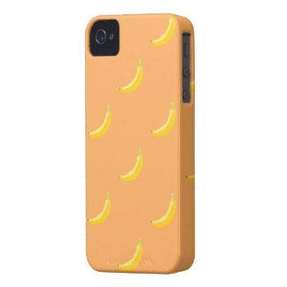 iphone 4 del modelo del plátano Case-Mate iPhone 4 coberturas