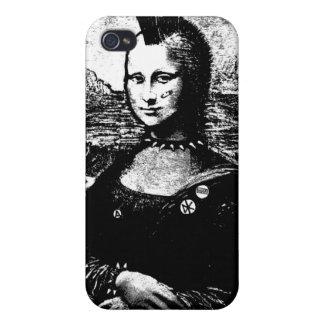 iPhone 4 del Mohawk de Mona iPhone 4/4S Carcasas