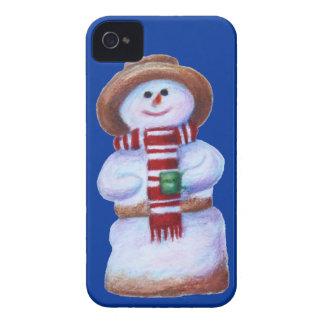 Iphone 4 del muñeco de nieve de la melcocha apenas Case-Mate iPhone 4 fundas