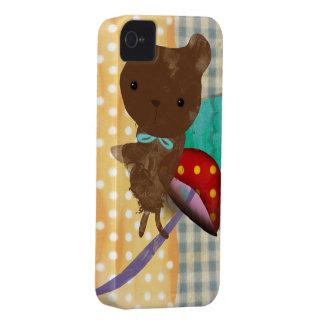 iPhone 4 del oso de peluche - caso 4s Carcasa Para iPhone 4