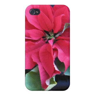 Iphone 4 del Poinsettia iPhone 4/4S Carcasas