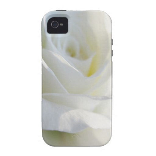 iPhone 4 del rosa blanco - hermoso iPhone 4/4S Fundas