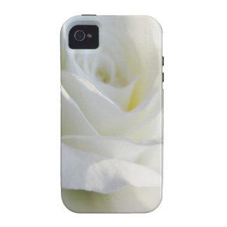 iPhone 4 del rosa blanco - hermoso Case-Mate iPhone 4 Carcasa