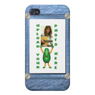 iPhone 4 Denim illusion iPhone case  by Valxart Case For iPhone 4