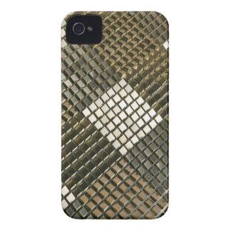 iPhone 4 diamantes metálicos del caso universal iPhone 4 Case-Mate Cobertura