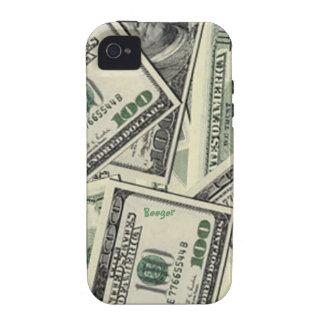 Iphone 4 duro - dinero del dinero del dinero Case-Mate iPhone 4 carcasas