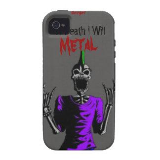 Iphone 4 duro - hasta muerte Metal iPhone 4 Carcasas