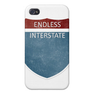 iPhone 4 Endless Interstate case Case For iPhone 4