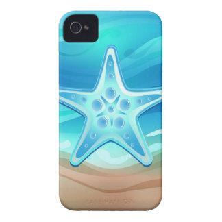 iPhone 4 estrellas de mar del caso iPhone 4 Carcasas