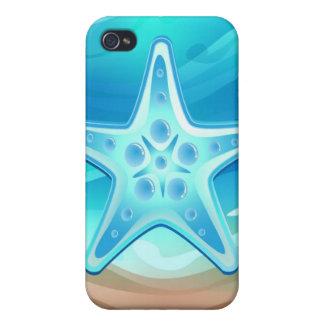 iPhone 4 estrellas de mar del caso iPhone 4/4S Carcasas