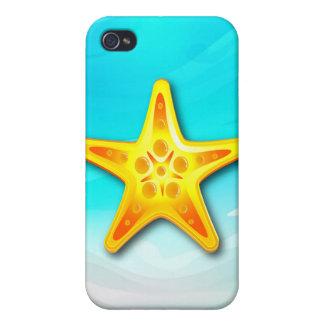 iPhone 4 estrellas de mar del caso iPhone 4 Protector