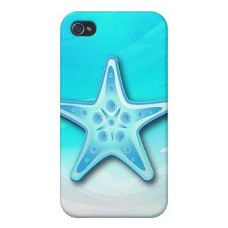 iPhone 4 estrellas de mar del caso iPhone 4 Protectores