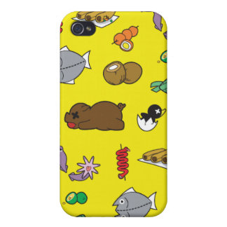 iPhone 4 Filipino Food Pattern iPhone 4 Cover