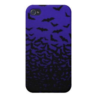 iPhone 4 Flock Of Bats Case (purple)
