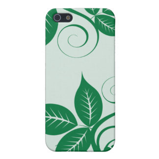 iPhone 4 Hunter Green Island Floral Case