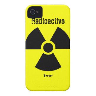 Iphone 4 ID - RadioActive Symbol Case-Mate iPhone 4 Case