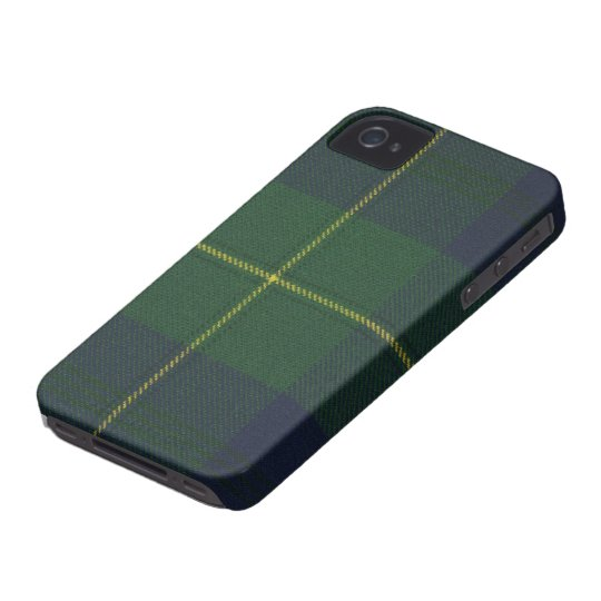 iPhone 4 Johnstone Modern Tartan Case Mate Case