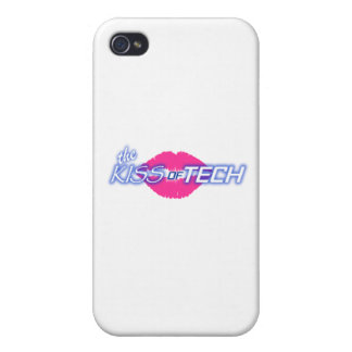 iPhone 4 KISS of TECH Logo Case iPhone 4/4S Covers
