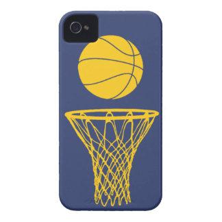 iPhone 4 marcapasos de la silueta del baloncesto iPhone 4 Cárcasa
