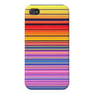 iPhone 4 Matte Finish Case Rainbow Sunset