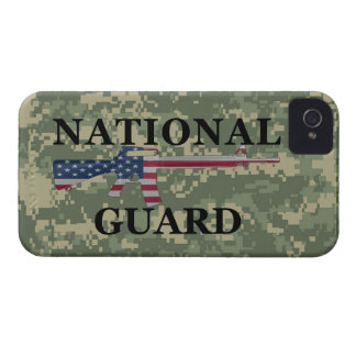 iPhone 4 National Guard Green Camo iPhone 4 Case