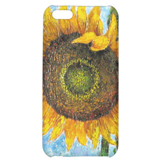 iPhone 4 or 4S Cases Sunflower Flower Painting iPhone 5C Cover