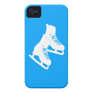 iPhone 4 patines de hielo azules Case-Mate iPhone 4 Cobertura