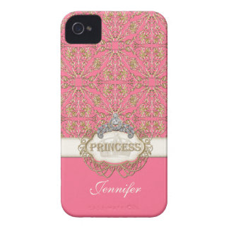 IPhone 4 Princess Jewel Bling Crown Personalized Case-Mate iPhone 4 Case