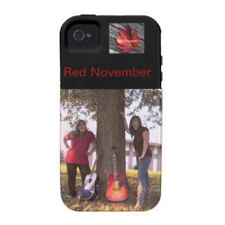 IPhone 4 Red November Phone Case iPhone 4 Case