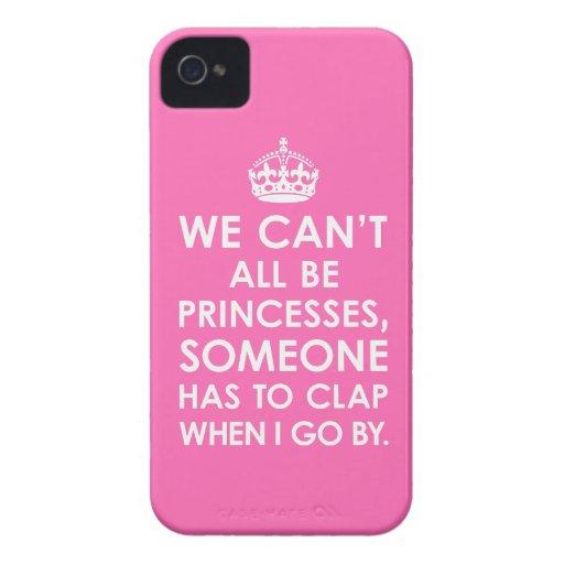 iPhone 4 rosas fuertes del caso no podemos todos s iPhone 4 Coberturas