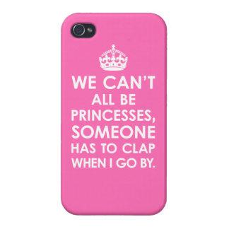 iPhone 4 rosas fuertes listas no podemos todos ser iPhone 4/4S Fundas