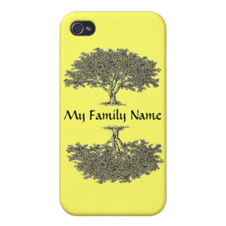iPhone 4 Savvy - Family tree iPhone 4 Case