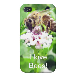 iPhone 4 Savvy - Honeybee on blossom Case For iPhone 4